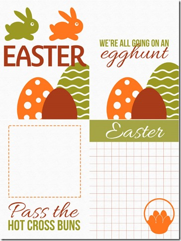 Autumn Easter Cards